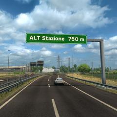 ALT Stazione sign