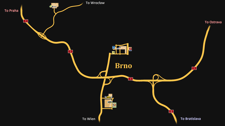 Image Brno mappng Truck Simulator Wiki FANDOM powered by Wikia