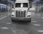 Peterbilt 579 Bumper Chrome