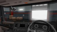 Scania R interior exclusive wood uk
