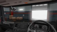 Scania R interior standard dark uk