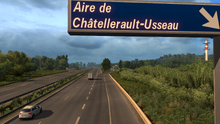 Aire de Châtellerault-Usseau