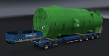 ETS2 Single Extendable Flatbed - Special Transport