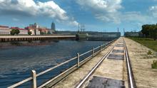 Szczecin West Oder river