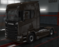 Scania S coffe brown