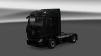New Actros black