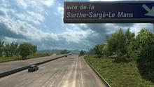 Aire de la Sarthe-Sargé-Le Mans