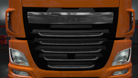 Daf xf euro 6 front mask stock