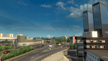 ETS2 city