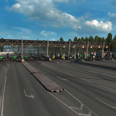 Toll gate in Russia (1)