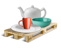 Cargo icon Tableware