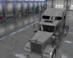 Kenworth W900 Mirrors Duty