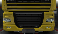 Daf xf 105 lower grille guard momentum