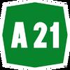 Italy A21 shield