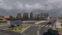Calais entrance