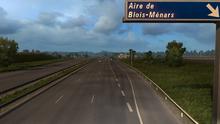 Aire de Blois-Ménars