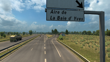 Aire de La Baie d'Yves
