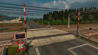 Level crossing Germany