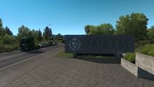 Siauliai entrance sign