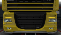 Daf xf 105 lower grille guard sting