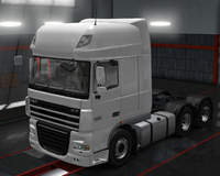 Daf xf 105 polar white
