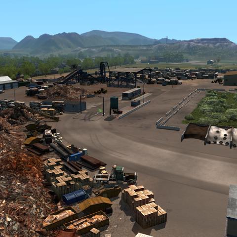 Avalanche Steel scrapyard