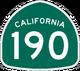 CA 190 sign
