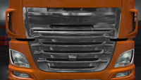 Daf xf euro 6 front mask chrome