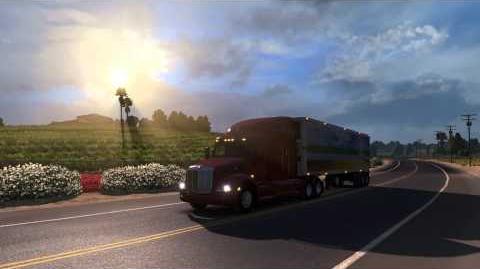 American Truck Simulator Gamescom 2015 Trailer
