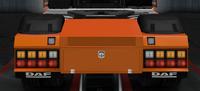 Daf xf euro 6 rear bumper legatus