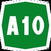 Italy A10 shield