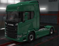 Scania R eucalyptus green