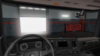 Scania R interior exclusive dark