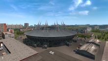 Saint Petersburg Krestovsky Stadium