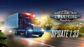 Changelog for ATS Update 1.33