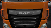 Daf xf euro 6 front badge chrome