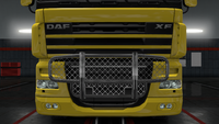 Daf xf 105 bull bar claw