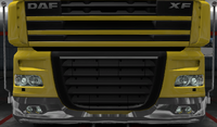 Daf xf 105 lower grille guard ranger