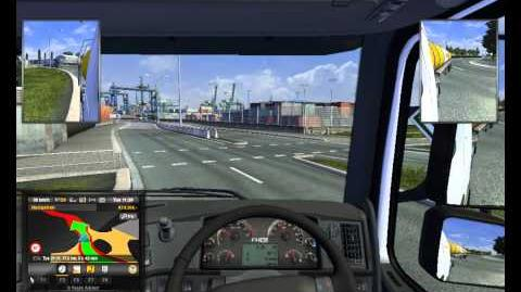 ETS2 Chemicals from London to Amsterdam,VOLVO, part 2