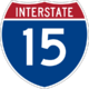 Interstate 15 icon