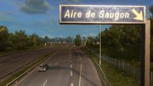 Aire de Saugon