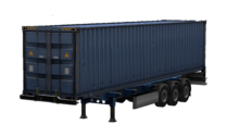 ETS2 Gooseneck Long