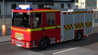 Fire truck Sweden
