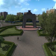 Arch of Victory in Krasnoye Selo