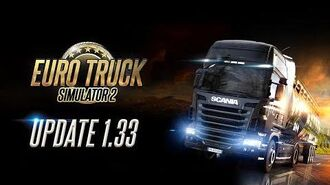 Changelog for ETS2 Update 1.33