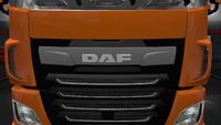 Daf xf euro 6 front badge glow