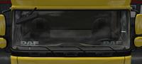 Daf xf 105 plate daf eindhoven emblem