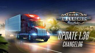 Changelog for ATS Update 1.36