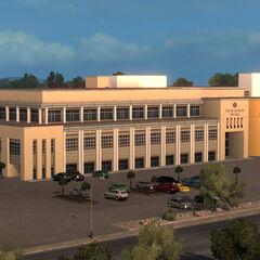 Las Cruces city hall.