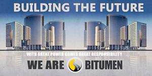 Bitumen ad